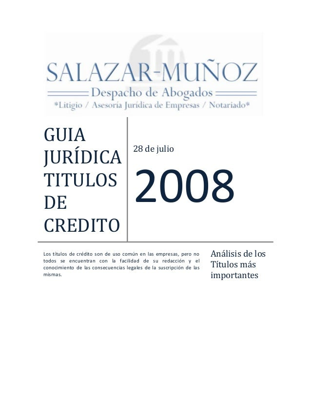 GUIA                                           28dejulioJURÍDICATITULOSDE                                        20...