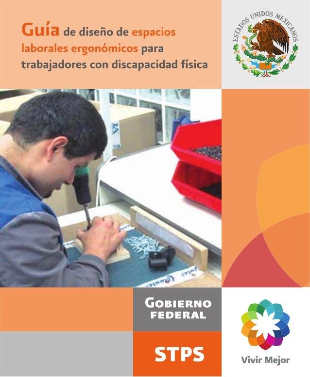 GUÍA de diseño de espacios laborales ergonómicos para trabajadores con discapacidad