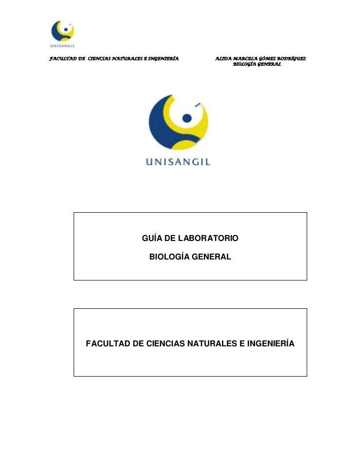 FACULTAD DE CIENCIAS NATURALES E INGENIERÍA   ALIDA MARCELA GÓMEZ RODRÍGUEZ                                               ...
