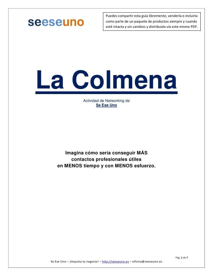 Guia La Colmena