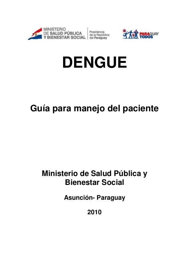 Guia manejo pte_dengue