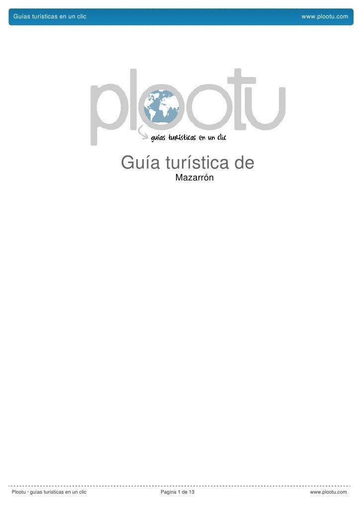 Guías turísticas en un clic                                  www.plootu.com                                            Guí...