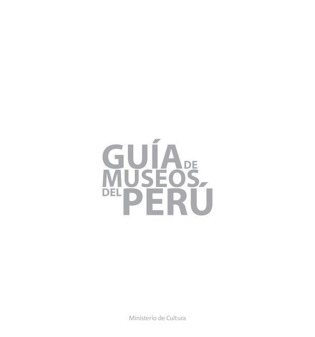 Guia Museos peru