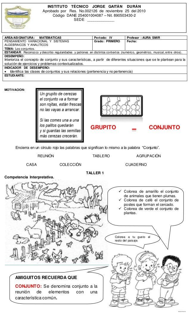 """MOTIVACION: Encierra en un círculo rojo las palabras que significan lo mismo a la palabra """"Conjunto"""". REUNIÓN TABLERO AGRU..."""