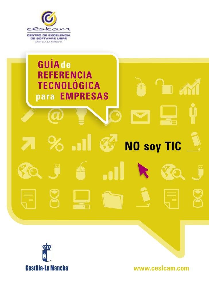Guía Tecnológica No Soy TIC