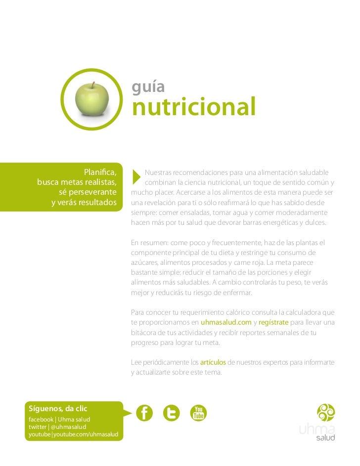 guía                                  nutricional               Planifica,  busca metas realistas,       sé perseverante  ...