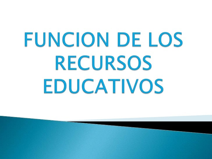 FUNCIONES DE LOS RECURSOS       EDUCATIVOS        MOTIVACION         FIJACION         REFUERZO       SOCIALIZACION