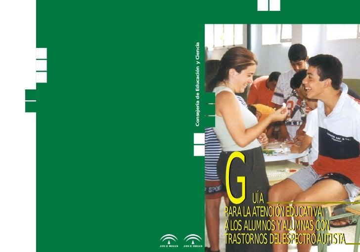 Guia para la atencion educativa - alumnos TEA