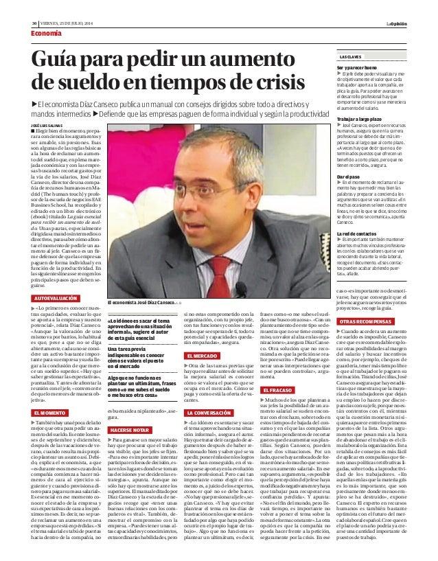 Guia para pedir un aumento de sueldo en tiempos de crisis