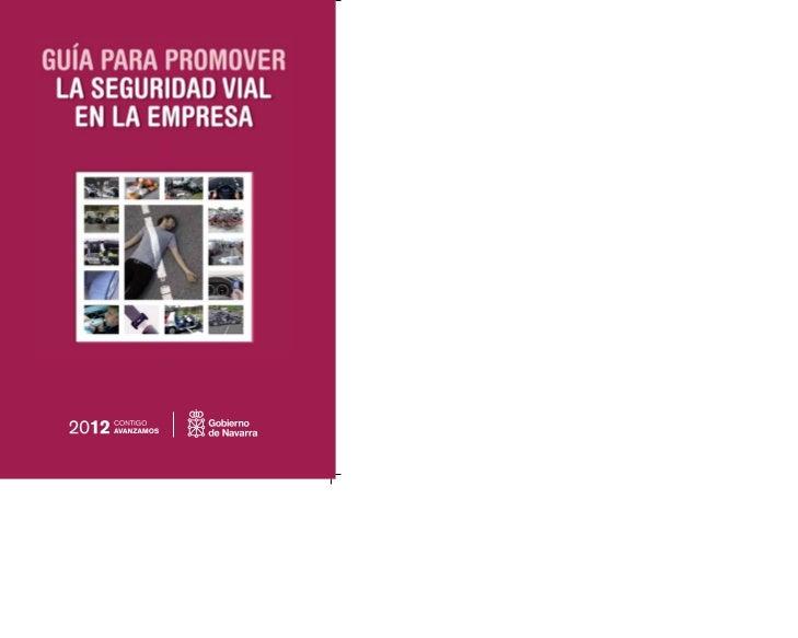 Guía para promoverla seguridad vial en la empresa