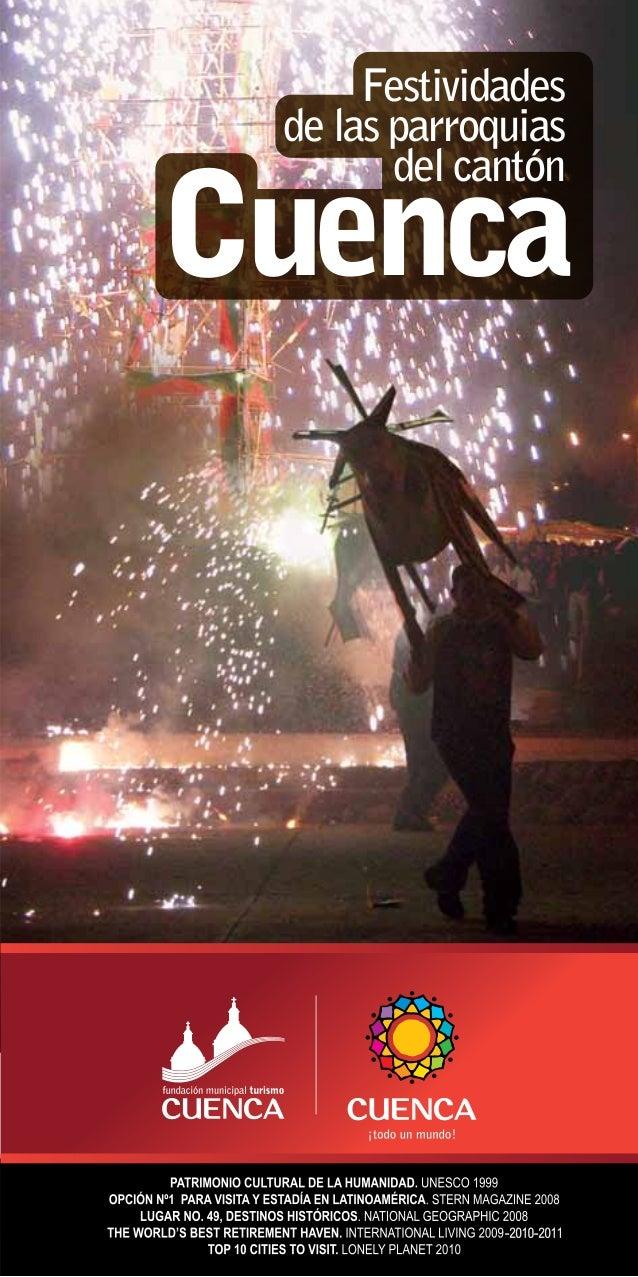 Festividades de las parroquias del cantón Cuenca