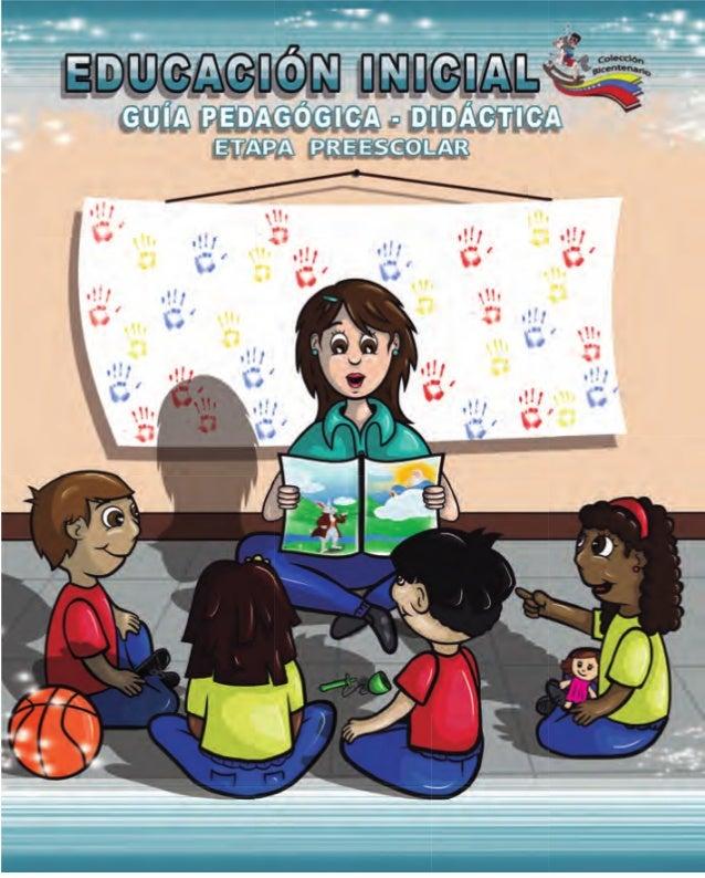 Guia pedagogica didactica Preescolar