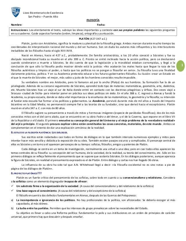 Liceo Bicentenario de Excelencia              San Pedro – Puente Alto                                                     ...