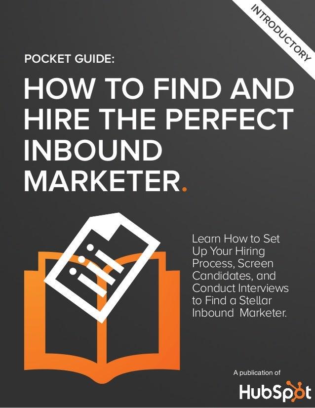 Guia practica para contratar a un experto en Marketing de Contenidos por HubSpot