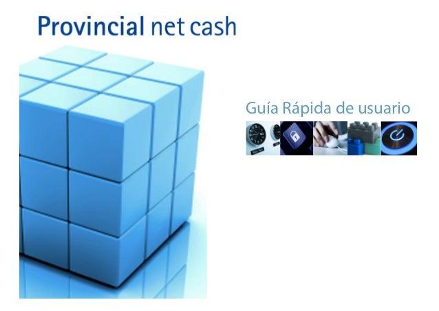 Guia rapida banco provincial net chas