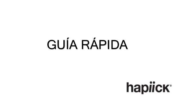 GUÍA RÁPIDA