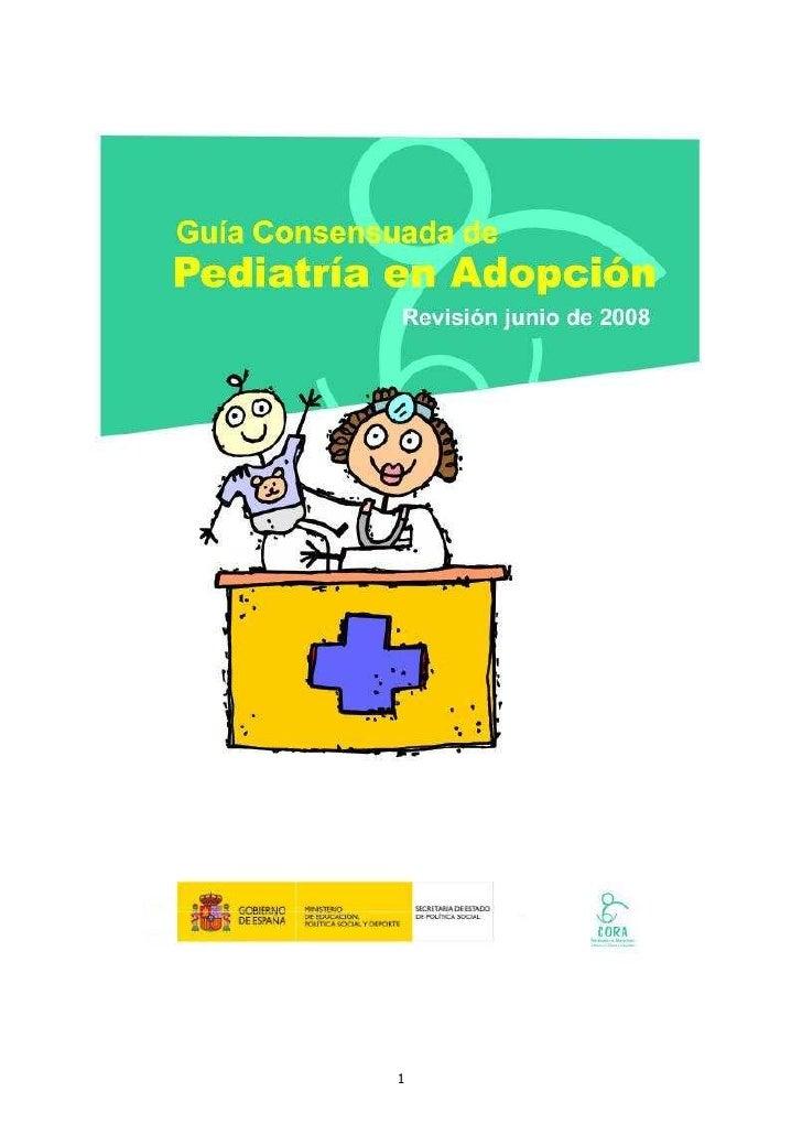 Guia Salud En Adopciã³N Int[1]  Extensa 2008 Cora