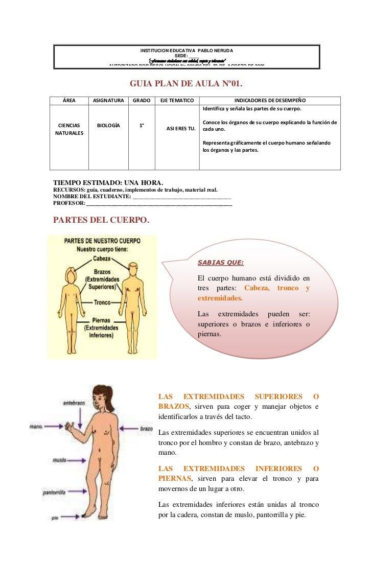 ejercicios de ciencia naturales: