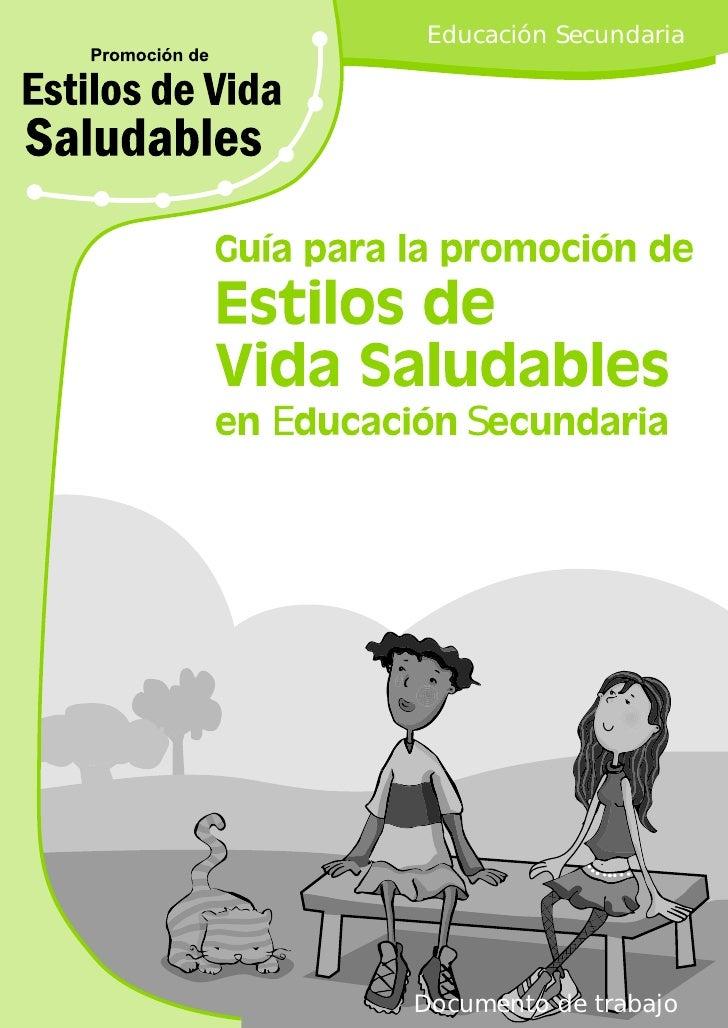 Educación SecundariaE       S    Documento de trabajo