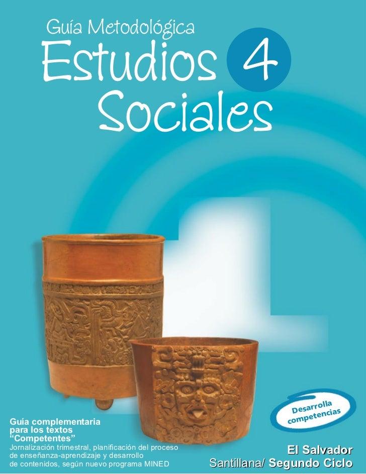 Guia Sociales 4o Grado