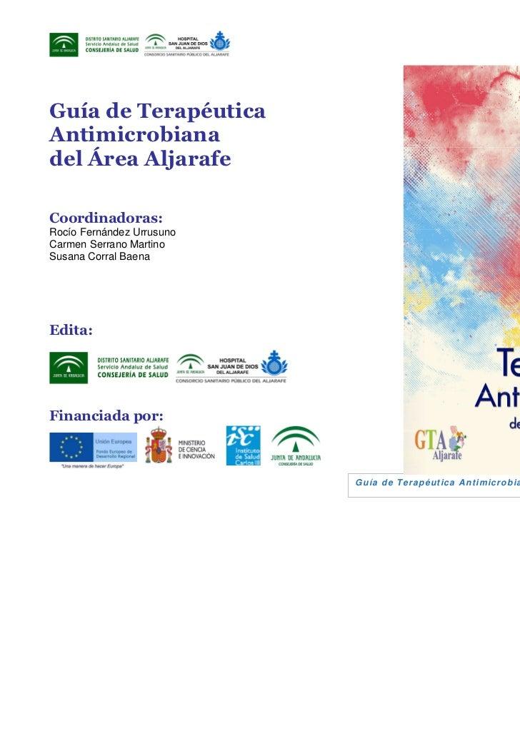 Guia terapèutica antimicrobiana