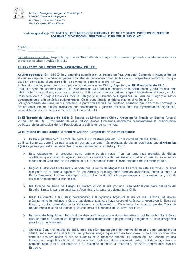 """Colegio """"San Juan Diego de Guadalupe"""" Unidad Técnica Pedagógica Historia y Ciencias Sociales Prof. Gonzalo Rivas Flores Gu..."""