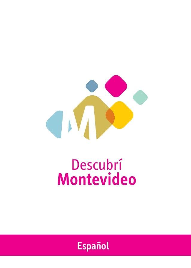 Guía turistica oficial: GUÍA DESCUBRÍ MONTEVIDEO