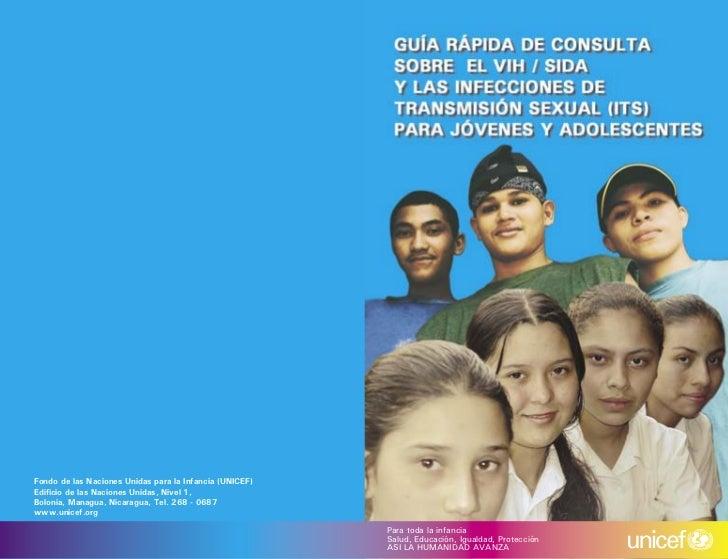 Fondo de las Naciones Unidas para la Infancia (UNICEF)Edificio de las Naciones Unidas, Nivel 1,Bolonia, Managua, Nicaragua,...