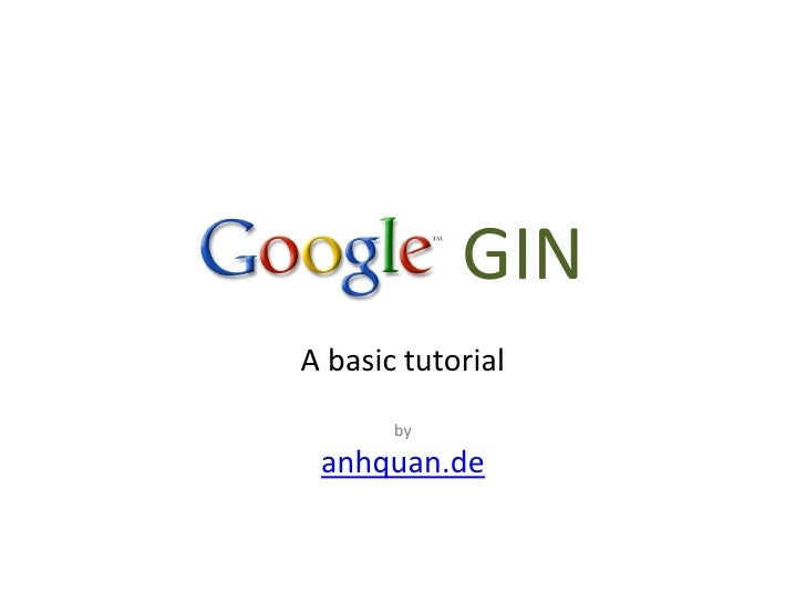 Guice tutorial