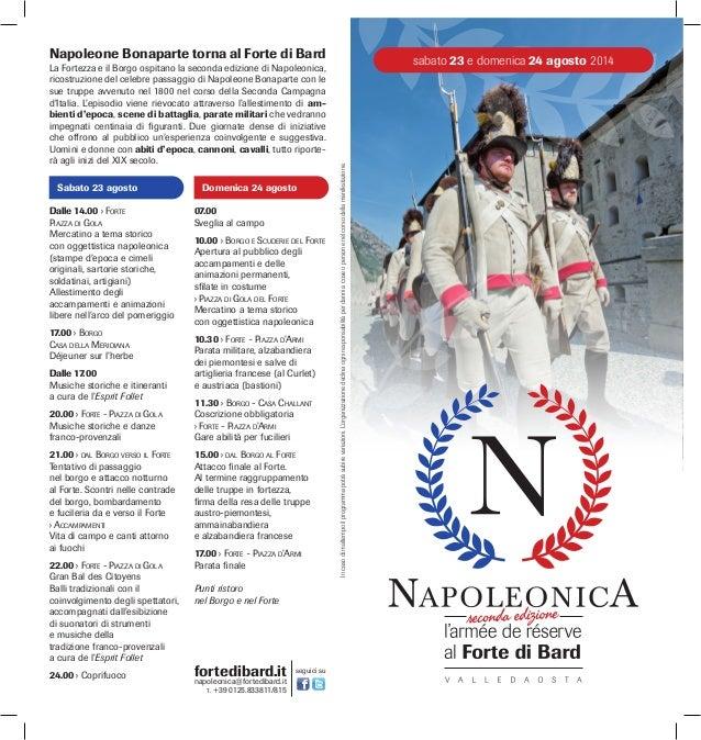 Guida a napoleonica 2014