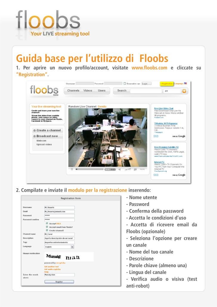 Guida Base utilizzo Floobs