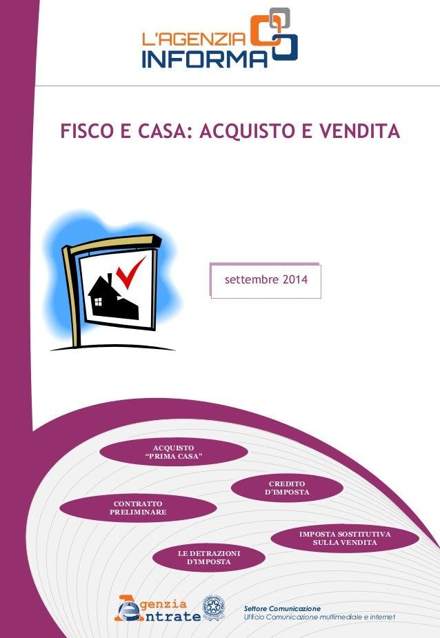 Fisco e casa acquisto e vendita aprile 2015 share the - Contratto preliminare esempio ...