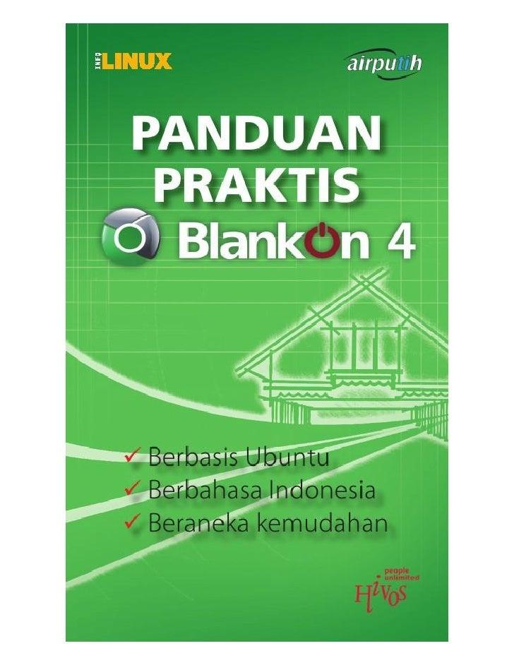 Petunjuk Penggunaan Linux Blankon