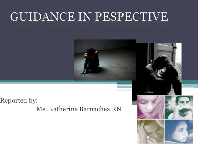 Guidance in perspective presentation
