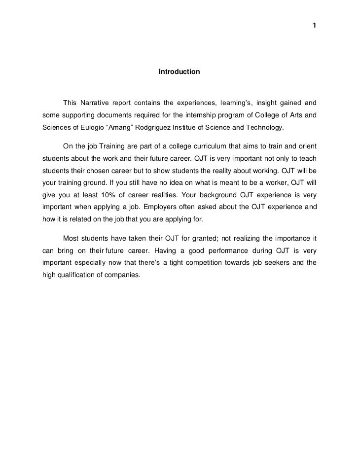 introduction to a personal narrative essay Personal narrative free essay template free essay examples, essay formats, writing tools and writing tips  introduction one day, when i was [how old.