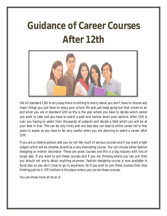 Guidance Counselor for best college required subjects
