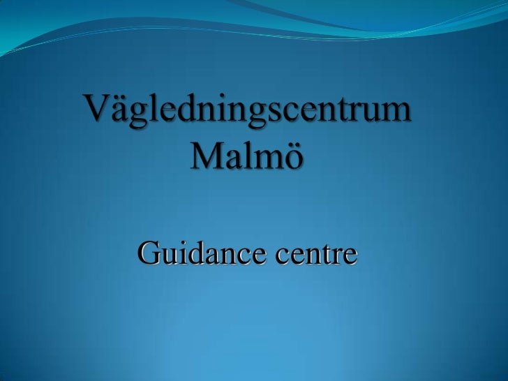 Guidance office malmo (2)