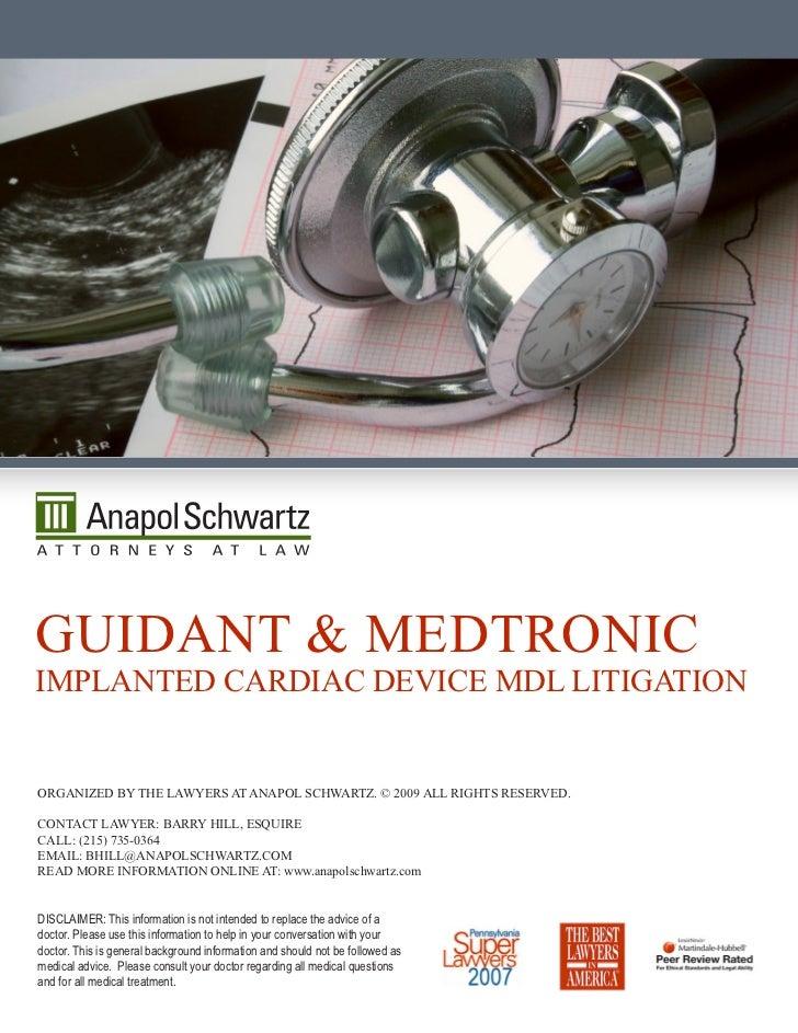Guidant Medtronic
