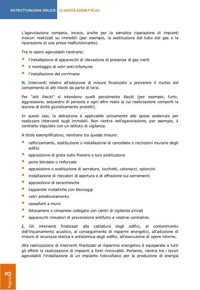 Agevolazioni fiscali per le ristrutturazioni edilizie 2013 la guida - Agevolazioni fiscali per ristrutturazione bagno ...