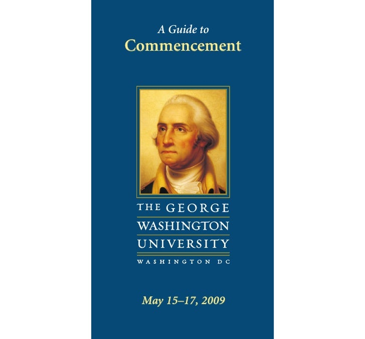A Guide to Commencement      May 15–17, 2009