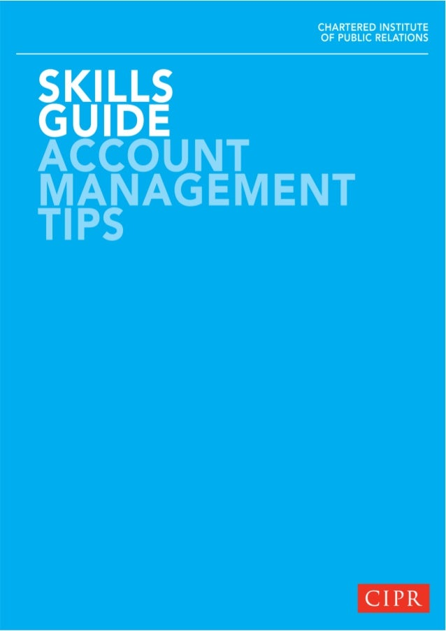 Account Management Tips