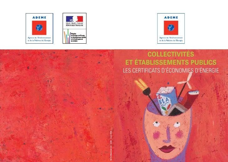 collectivités                                     et établissements publics                                     Les Certif...