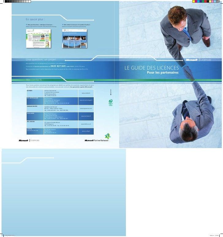 Guide des-licences-microsoft-2010-pour-les-partenaires