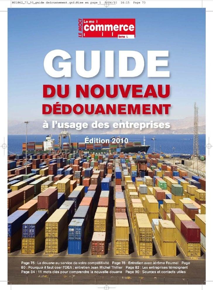 Guide du-nouveau-dédouanement-pour-entreprises 2010