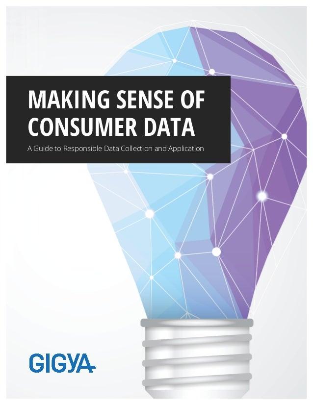 Making sense of consumer data