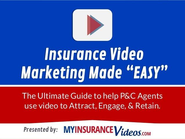 Ebook: Insurance Video Marketing Made quot;EASYquot;