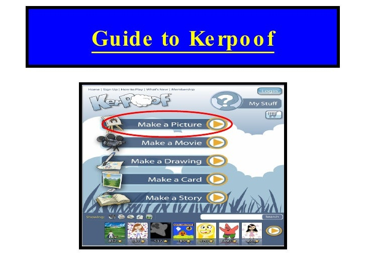Guide to Kerpoof