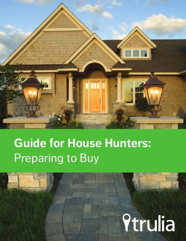 Trulia's Guide On Preparing To Buy