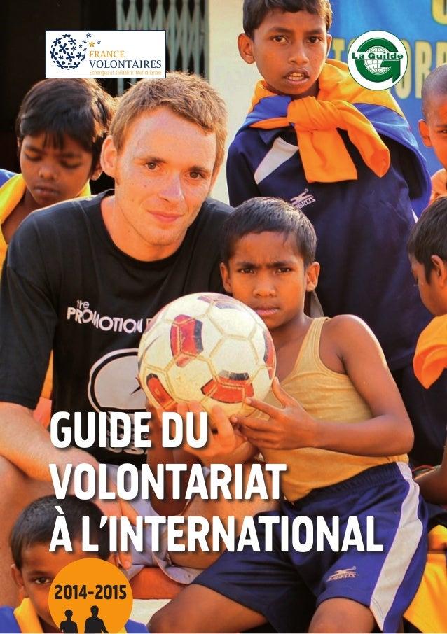 Guide volontariats