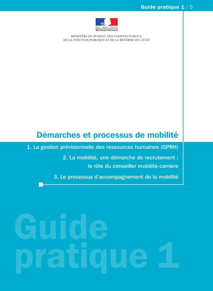 Guide pratique 1 / 5                  MINISTÈRE DU BUDGET, DES COMPTES PUBLICS,              DE LA FONCTION PUBLIQUE ET DE...